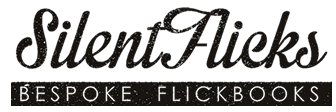 silentflicks flick books logo